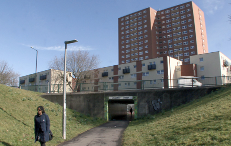 View of an underpass in Bristol