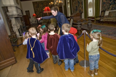 Children exploring the Museum