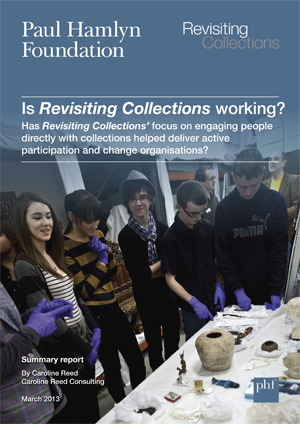 Front cover of report, Is Revisiting Collections working? Summary.