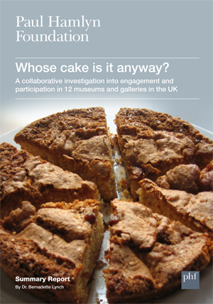 Front cover of the 'Whose cake is it anyway' report