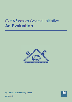 Front cover: Our Museum Final Evaluation (full)