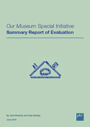 Front cover: Our Museum Final Evaluation (summary)