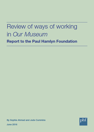Front cover: Review of ways of working in Our Museum